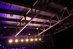 Various spotlights on concert Royalty Free Stock Images