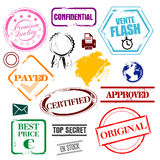 Various stamps Royalty Free Stock Image