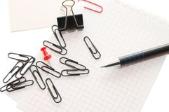 Various stationery Royalty Free Stock Photos