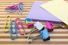 Various stationery Stock Photo