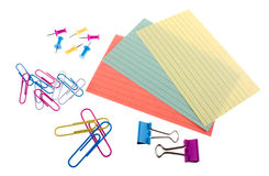 Various stationery Stock Photography