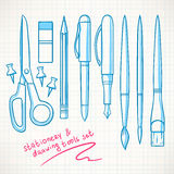 Various stationery Stock Image