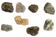 Various stone for industry royalty free stock images