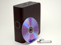 Various storage device Royalty Free Stock Images