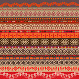 Various strips motifs colored Royalty Free Stock Photography