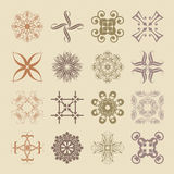Various styles of Soft Symbol Sets. Original Pattern and Symbol Royalty Free Stock Photo