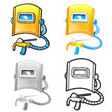 Various styles of Welding Sets. Industrial market Items Vector I Stock Photography