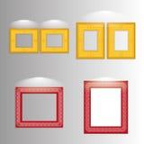 Various Stylish Framework Isolated On Background Royalty Free Stock Photo