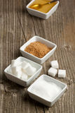 Various of sugar Stock Images