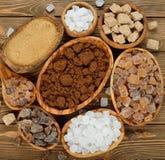Various sugar Stock Photography