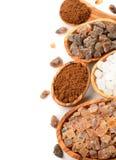 Various sugar Royalty Free Stock Photography