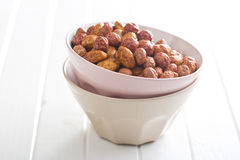 Various sugared nuts Stock Image