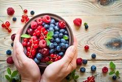 Various  summer berries Stock Photo