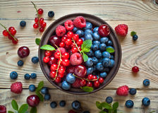 Various  summer berries Royalty Free Stock Images