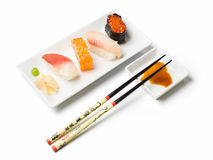 Various sushi meal royalty free stock photo