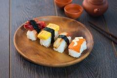 Various sushi Stock Photography