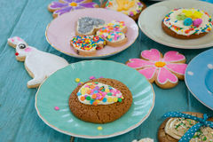 Various sweet foods and confectioneries Royalty Free Stock Image