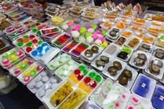 Various sweet Thai specialties Royalty Free Stock Photos
