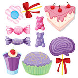 Various sweets Stock Photo