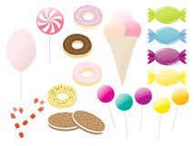 Various sweets vector collection Stock Image
