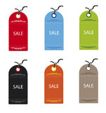 Sale Tags. Various Illustration Tags for Web or Print Royalty Free Stock Photography