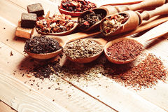Various of tea Stock Photos
