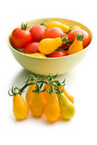 Various tomatoes Royalty Free Stock Images