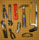 Hanging Tools Royalty Free Stock Photo