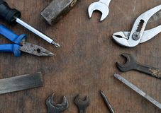 Various tools Stock Image
