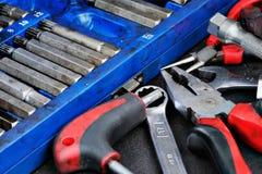 Various tools Stock Photos