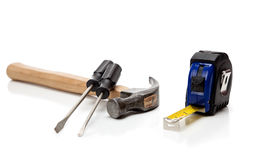 Free Various Tools On A White Background Stock Images - 13762214