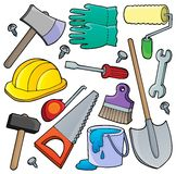 Various tools theme collection 1 Royalty Free Stock Images