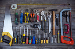 Various tools Royalty Free Stock Image
