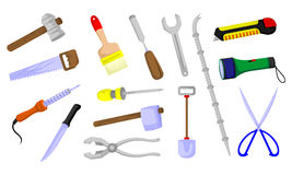 Various tools. Various work tools and household appliance Stock Photo