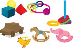 Various toys Stock Photo