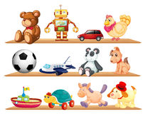 Various toys Royalty Free Stock Photos