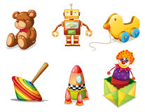 Various toys Stock Images
