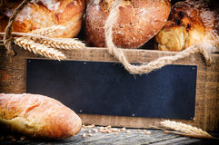 Various traditional bread Stock Photo