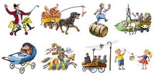 Various transport_2 Stock Photos