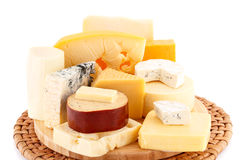 Various type of cheese Royalty Free Stock Photography