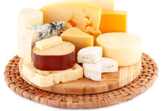 Various type of cheese Royalty Free Stock Image