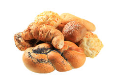 Various types of bread Royalty Free Stock Photo