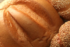 Various types of bread royalty free stock photography