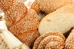 Various types of bread stock images