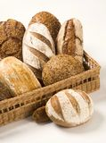 Various types of bread Royalty Free Stock Image