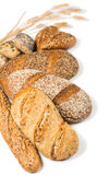 Various types of cereal bread Royalty Free Stock Image