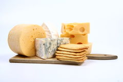 Various types of cheese Stock Image