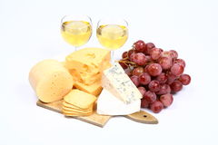 Various types of cheese Stock Photography