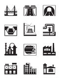 Various types of construction Royalty Free Stock Image
