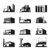 Various types of construction Stock Photo